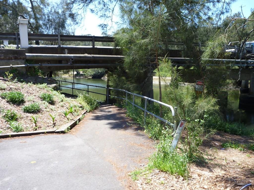 Walking under Fullers Bridge