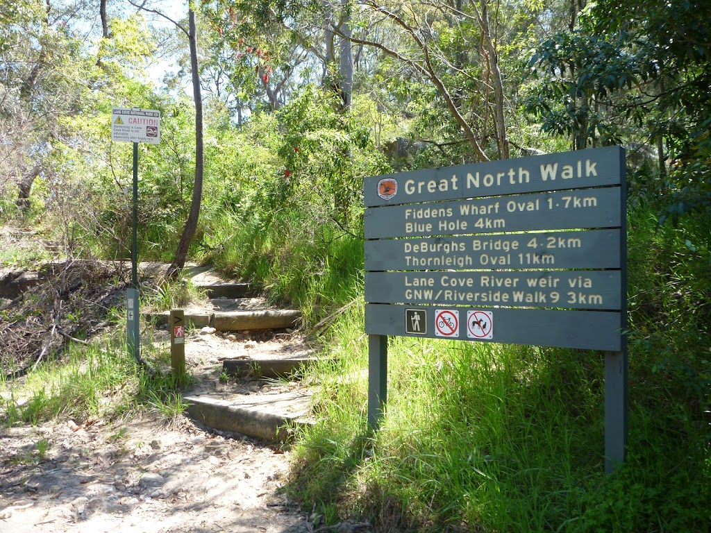 GreatNorth Walk sign up along Max Allen Drive