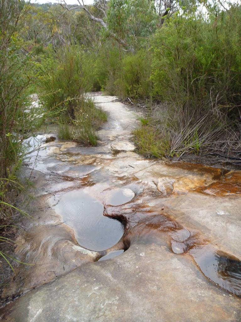 Minor creek crossing