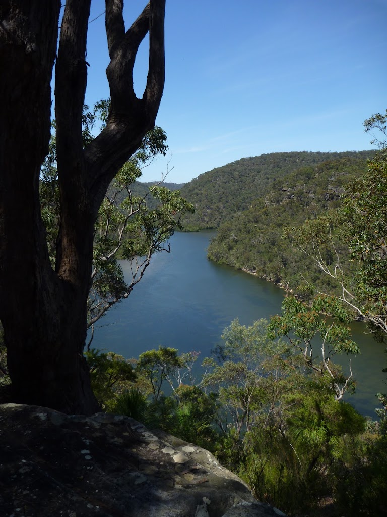 View of Berowra Water west of Berowra Heights
