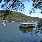 House boat on Berowra Creek