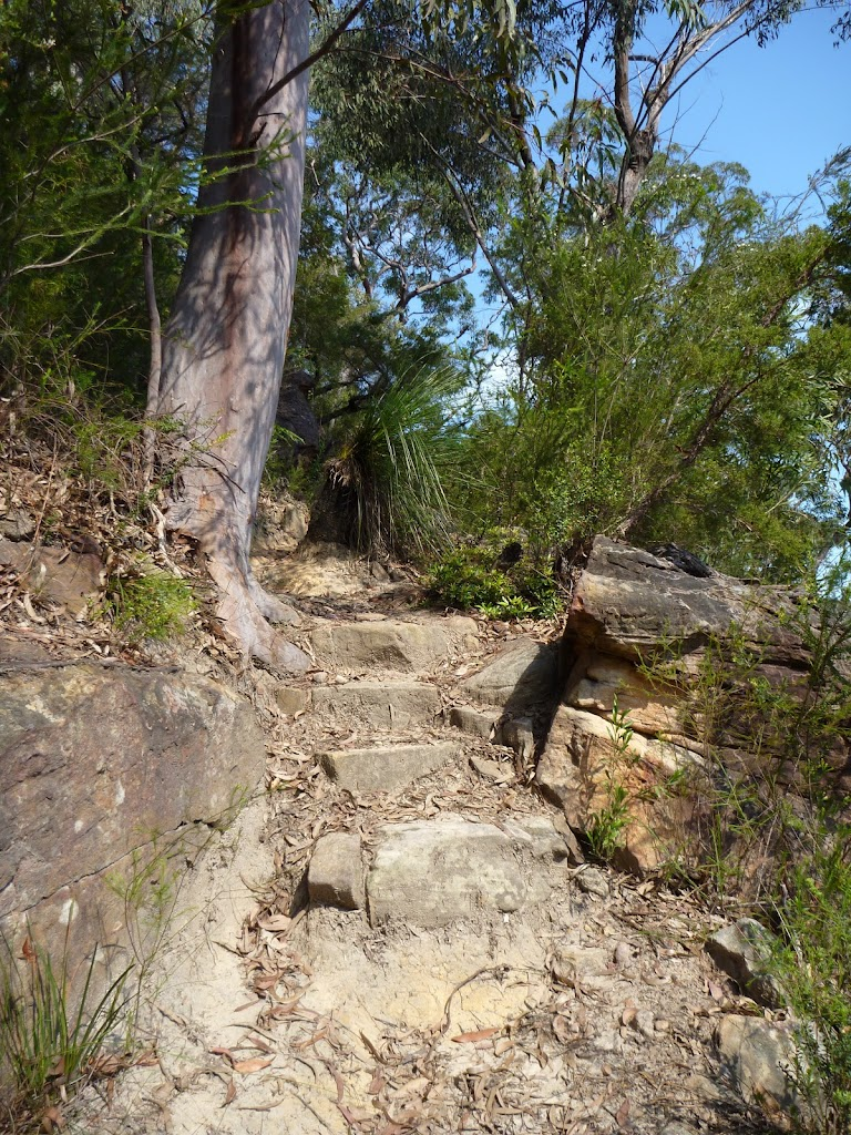 Steep steps east of Joe Crafts Creek