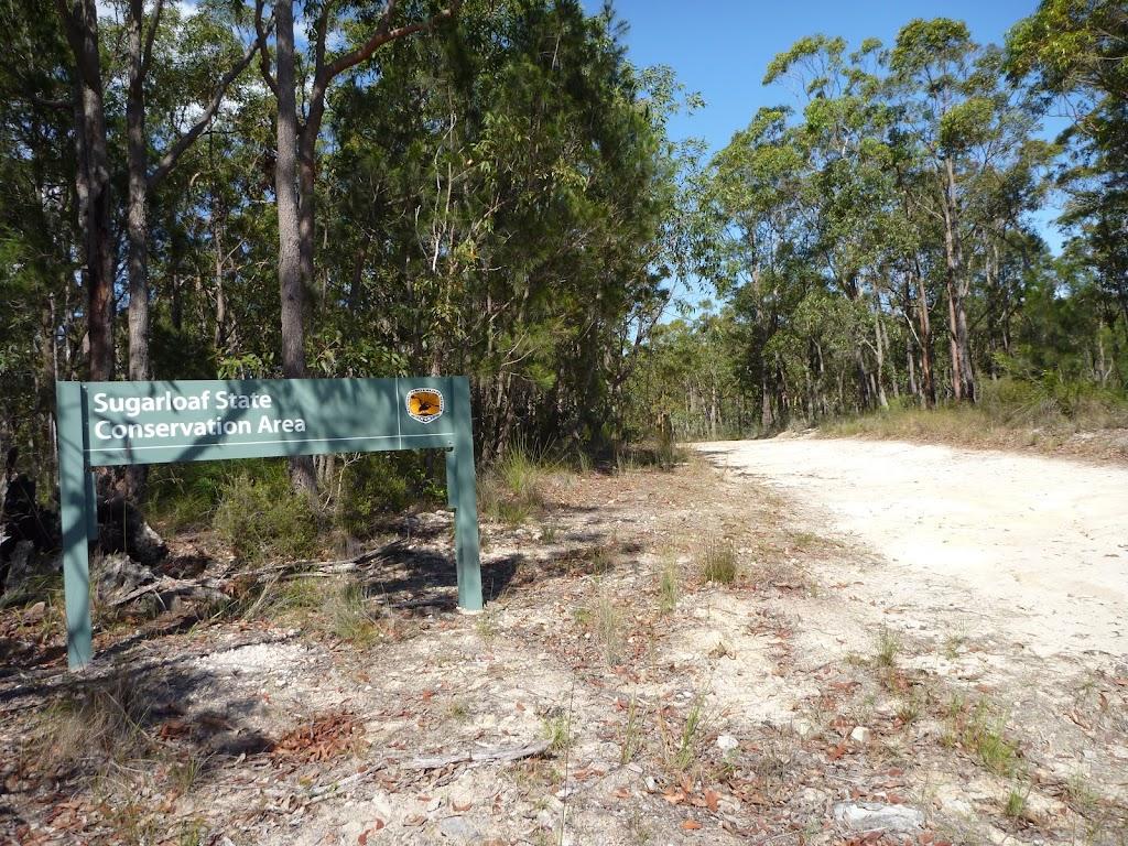 Entering Sugarloaf State Conservation Area