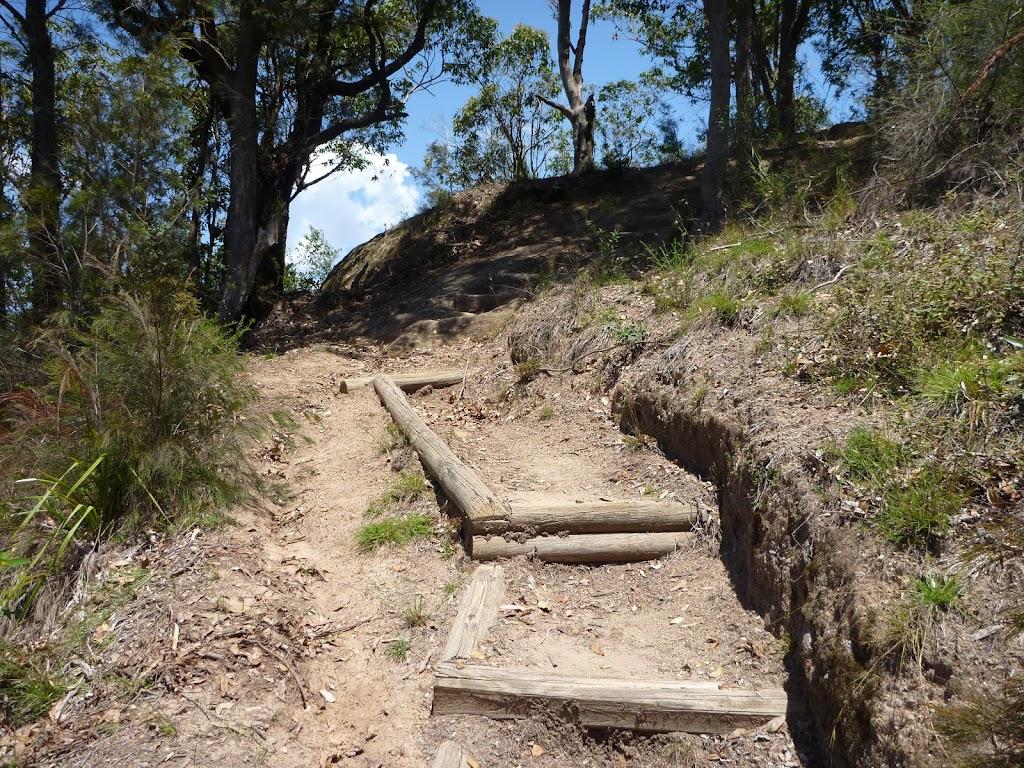 Track below Heaton Gap Lookout