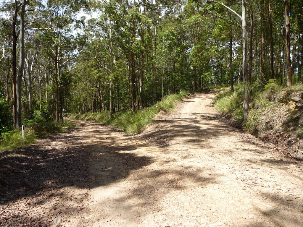 Y-intersectin north of Heaton Lookout