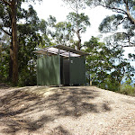 Toilets just north of Heaton Lookout