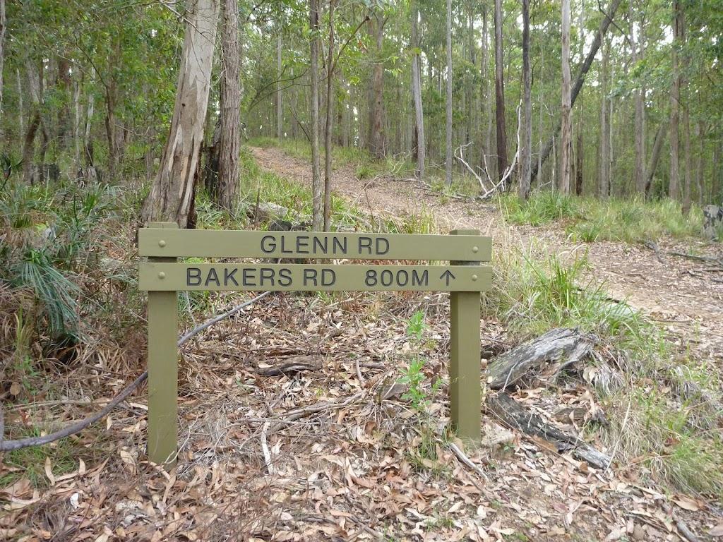 End of Glen Rd