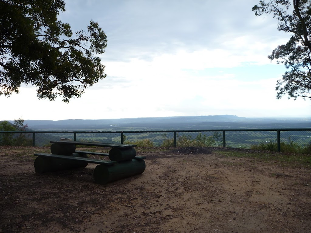 View From Hunter Picnic area and Lookout
