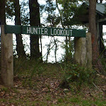 Signpost at Hunter Lookout