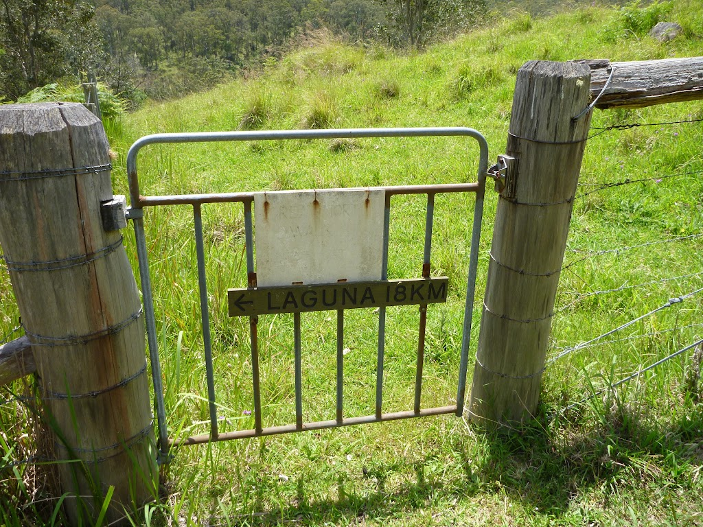 'Laguna' gate on Watagan Creek Rd (363521)