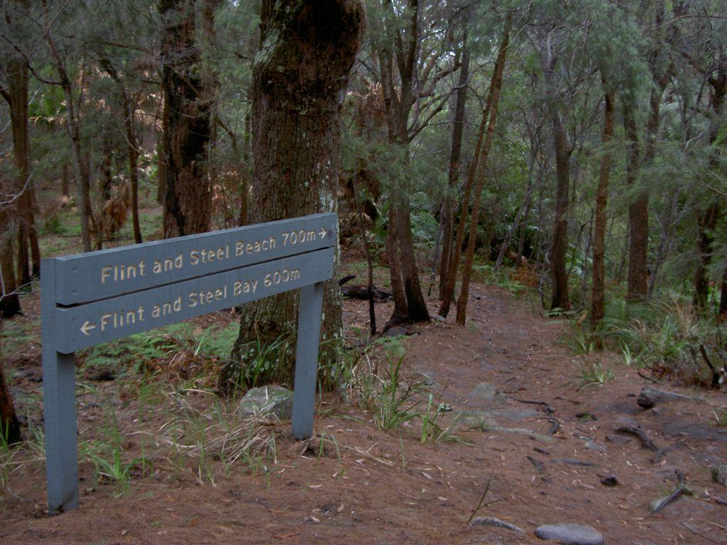 Signpost at saddle 2