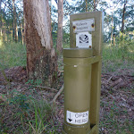 Walkers Registration tube in the Palm Grove NR