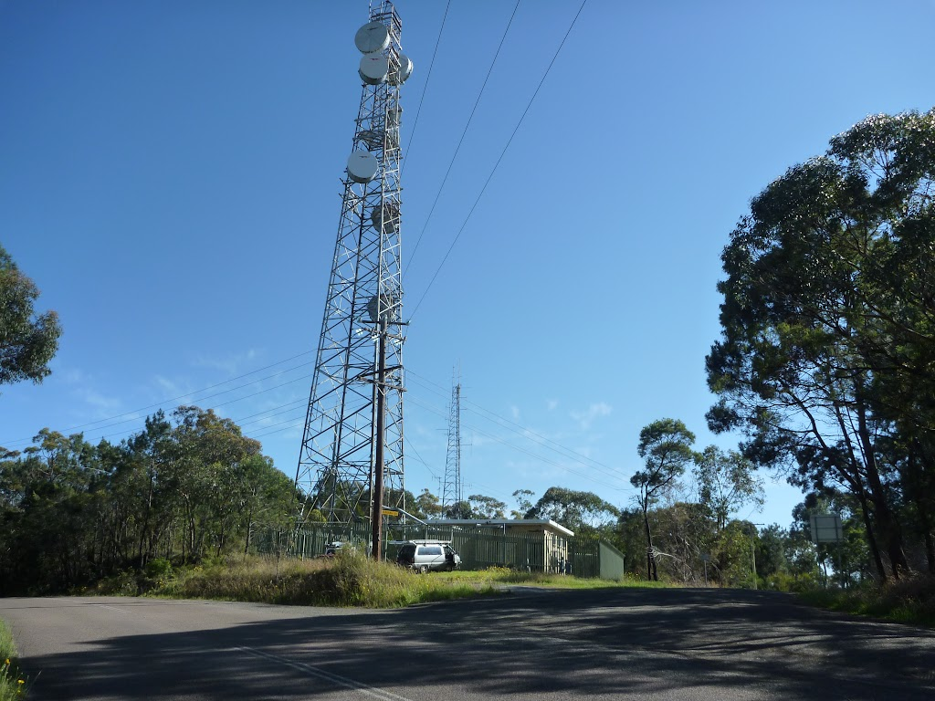Communications tower on Wisemands Ferry Rd