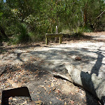 A pleasent establishe campsite near the quarry (372217)