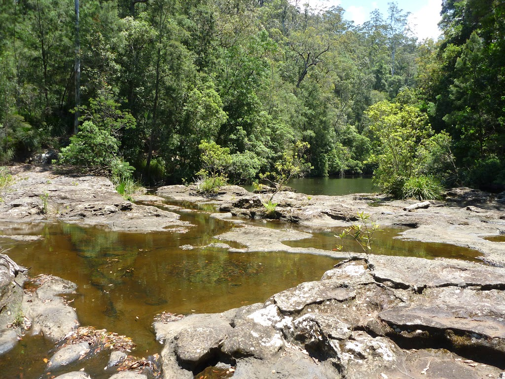 The beautiful Mooney Mooney Creek crossing