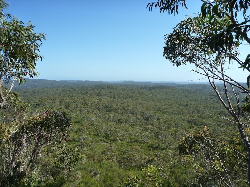 View from Scopas Peak