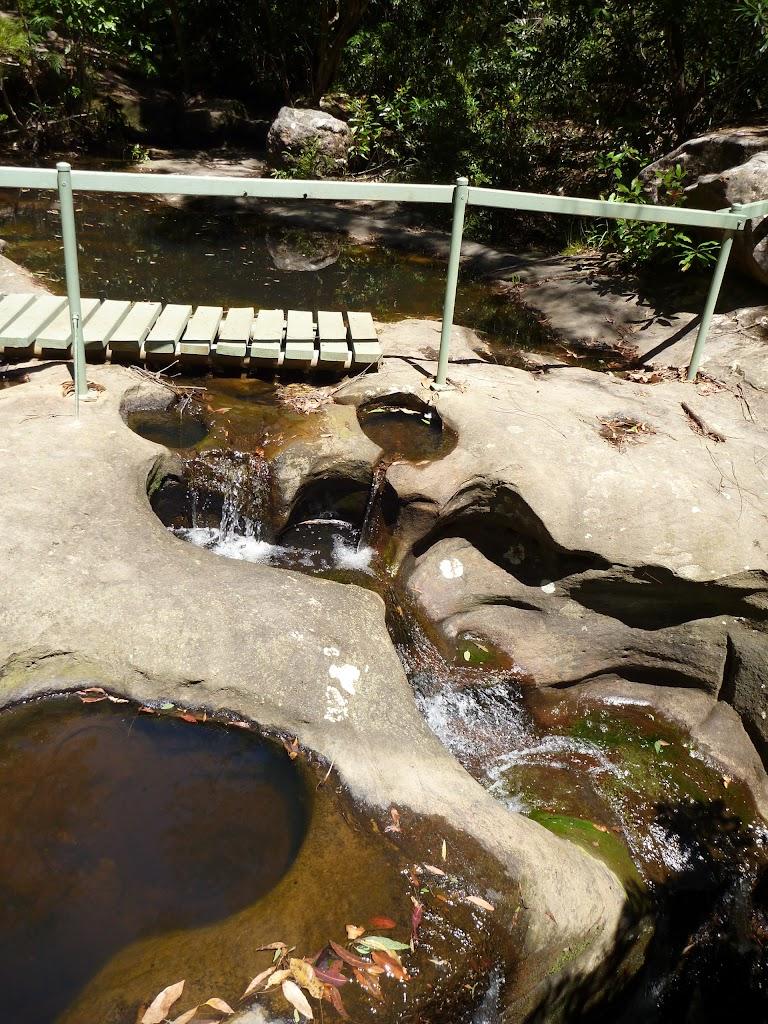 Top of Lyrebird Waterfall  (boardwalk washed away in 2012)