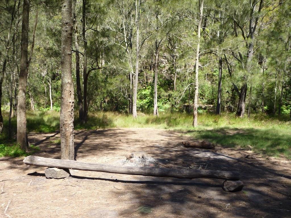 Calna Creek Northern campsite