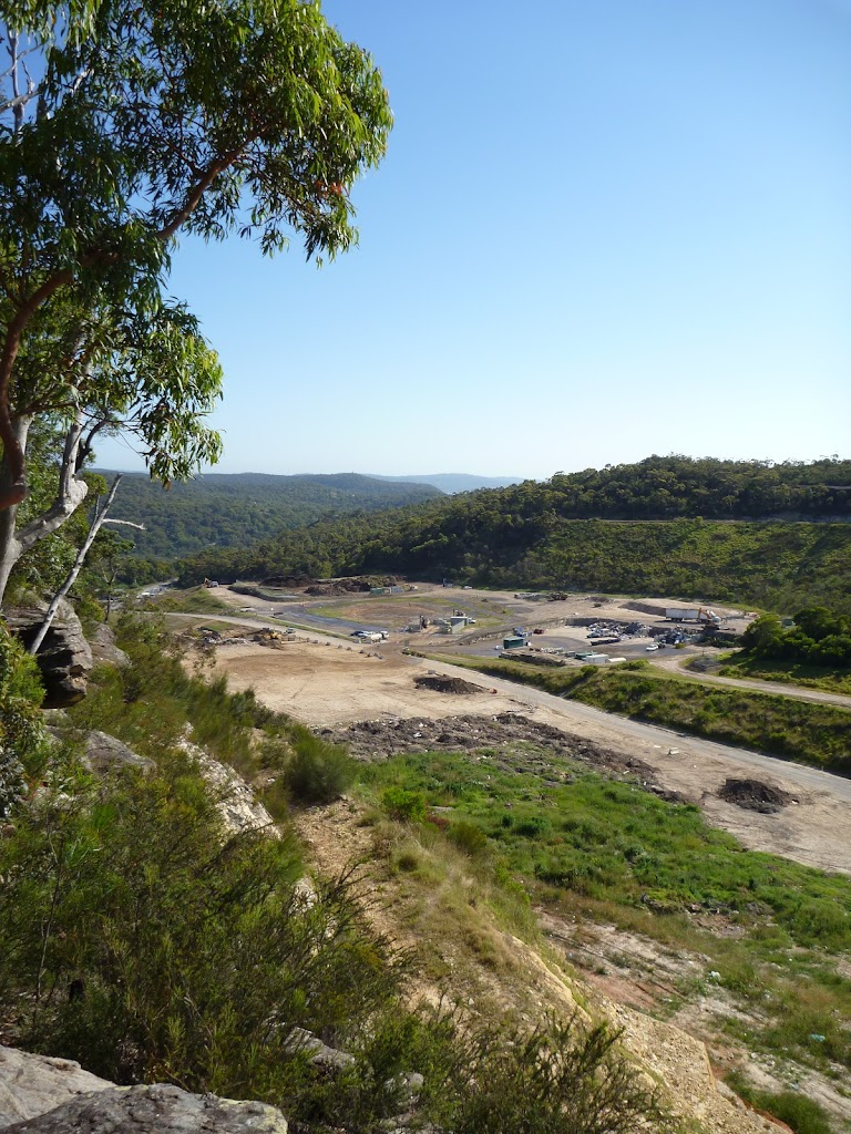 View over Woy Woy landfill
