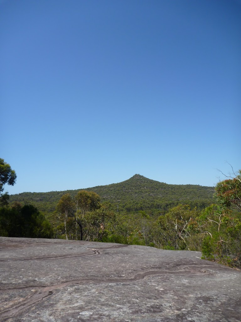 Mt Wondabyne from the north
