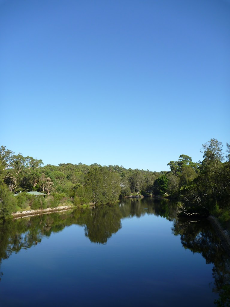 The Lane Cove River from Fullers Bridge