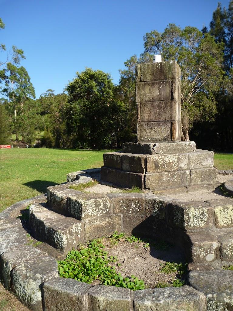 Monument at Koonjeree Picnic Area