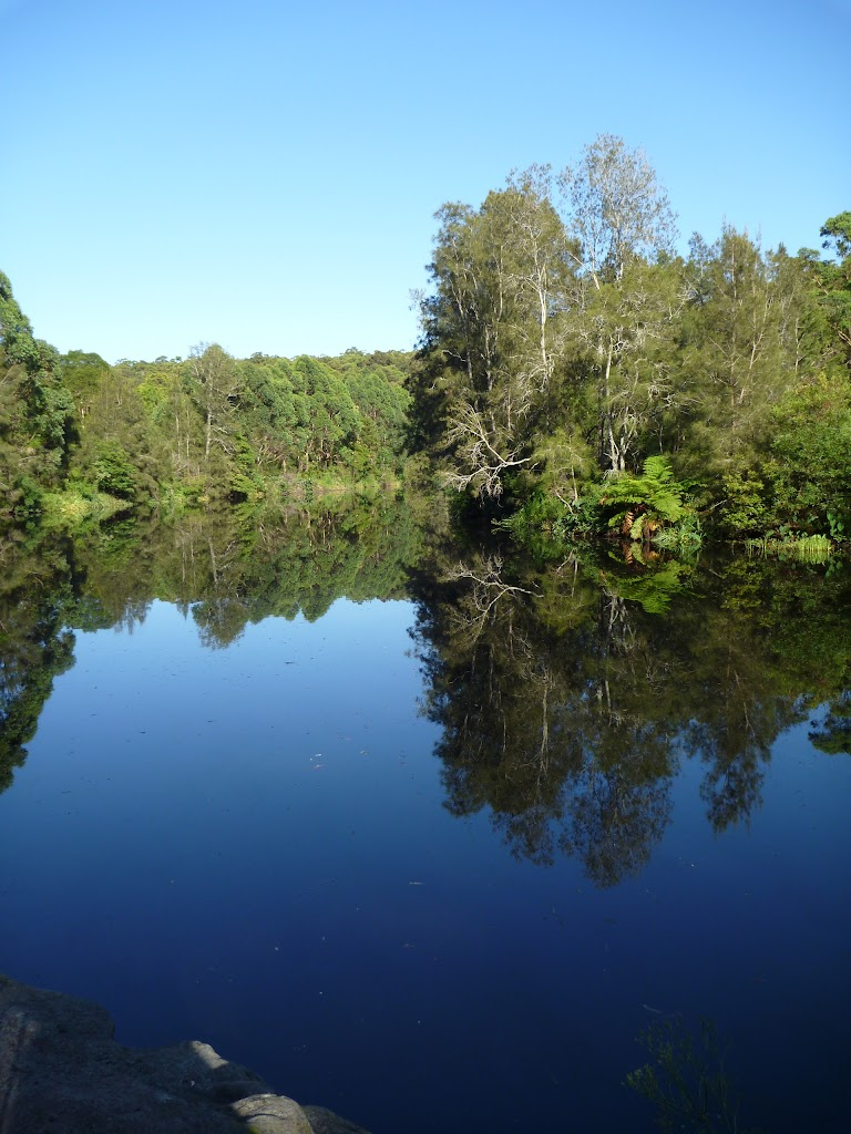 The Lane Cove River, just above the weir