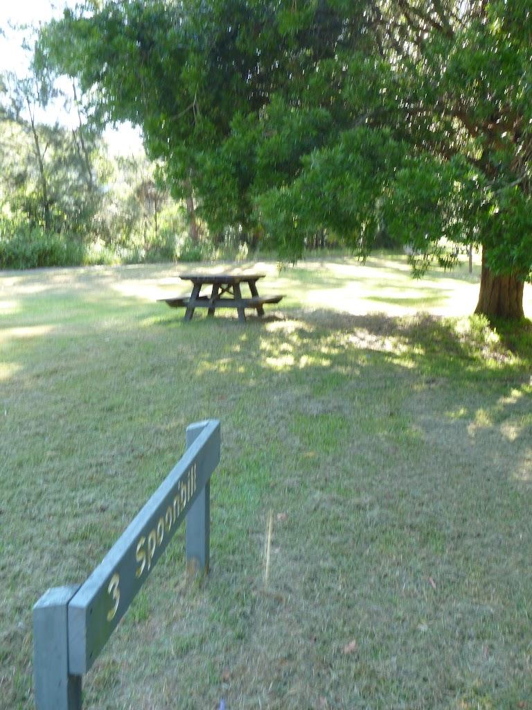 Spoonbill picnic area