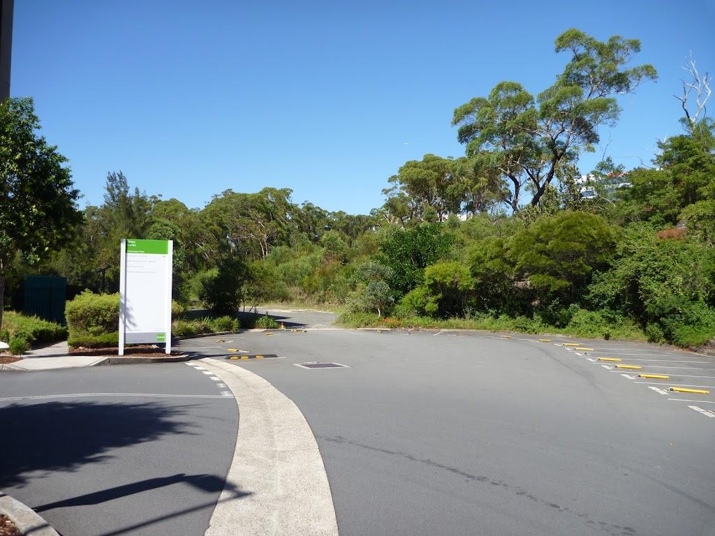 Binary/Goodman Carpark entrance