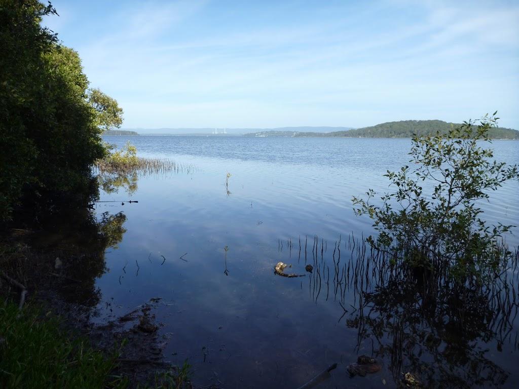 Lake Macquarie from Galgabba Point walk.
