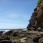 Rock platforms at Caves Beach Caves (387353)