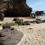 Sandy beach outside Caves Beach Caves (387377)