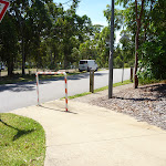Footpath and intersection in Murray's Beach on Jetty Point Drive (389219)