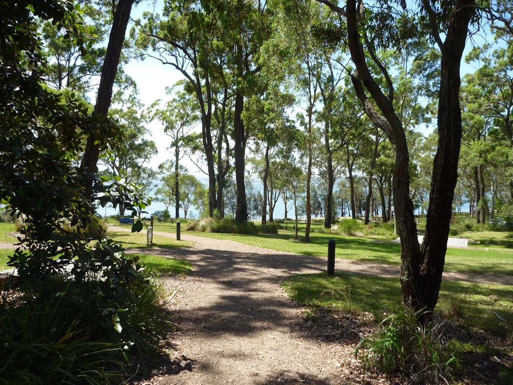 Landscaped ground at Murray's Beach