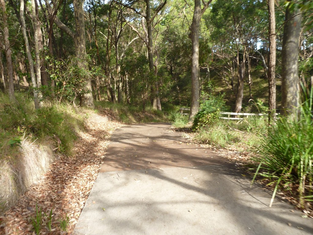 Sealed footpath in Green Point Reserve