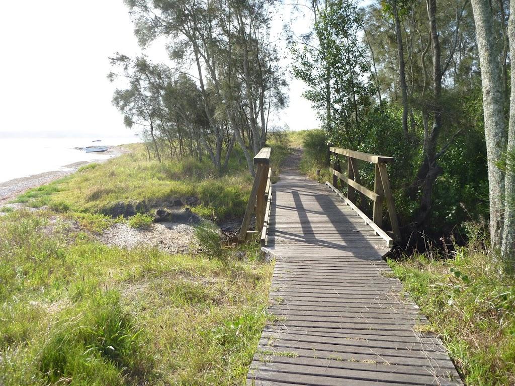 Bridge in Green Point Reserve