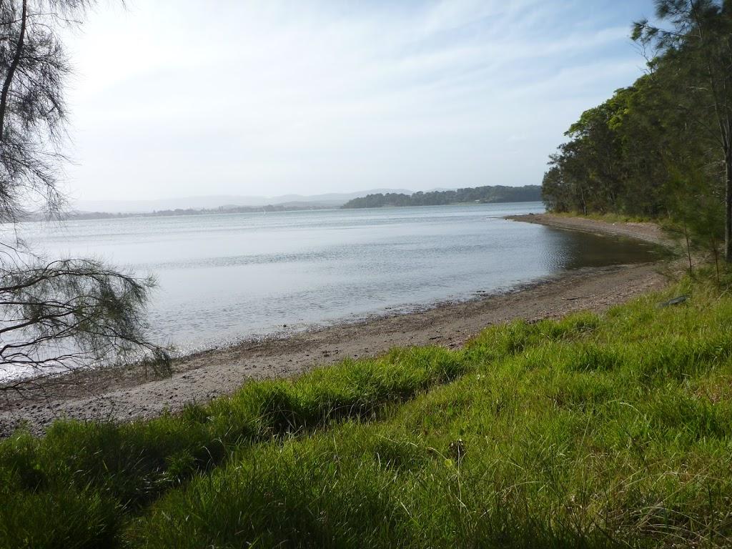 Far-reaching views over Lake Macquarie