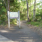 Dilkera Rd entrance to Green Point Reserve (389957)