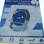 Belmont Lagoon Signage at Belmont Lagoon Car Park (390083)