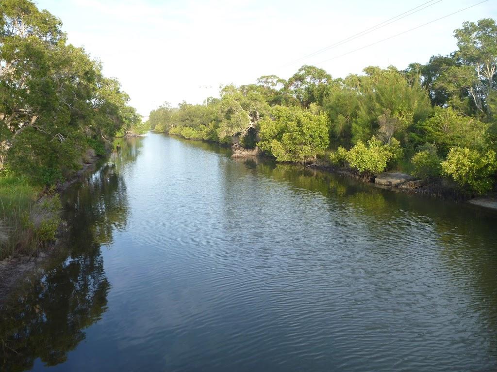 Creek at Belmont lagoon