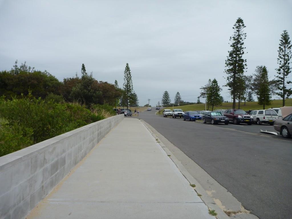 Footpath in the Redhead SLSC Car Park