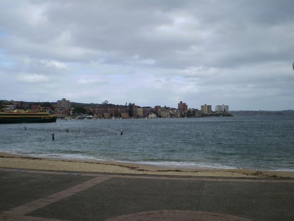 Manly harbourside