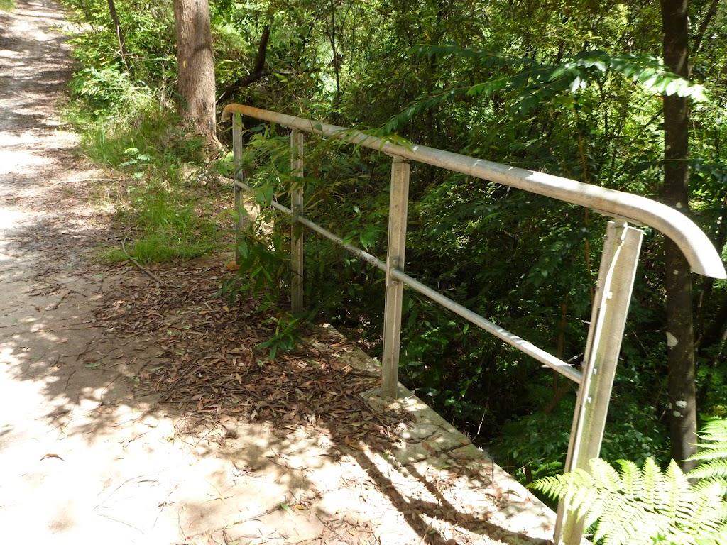 Crossing Rudder Creek