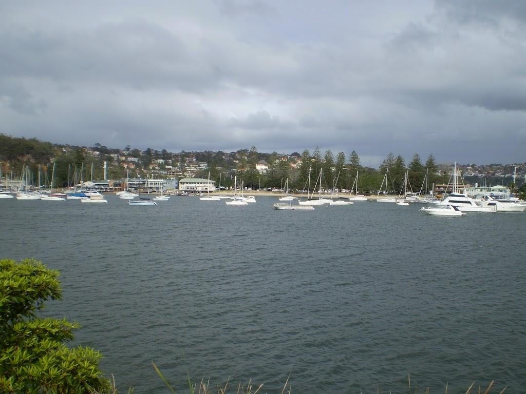 views just before Clontarf Reserve