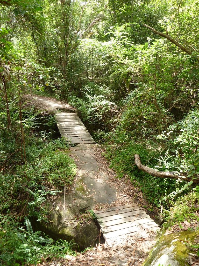 Crossing Congham Creek