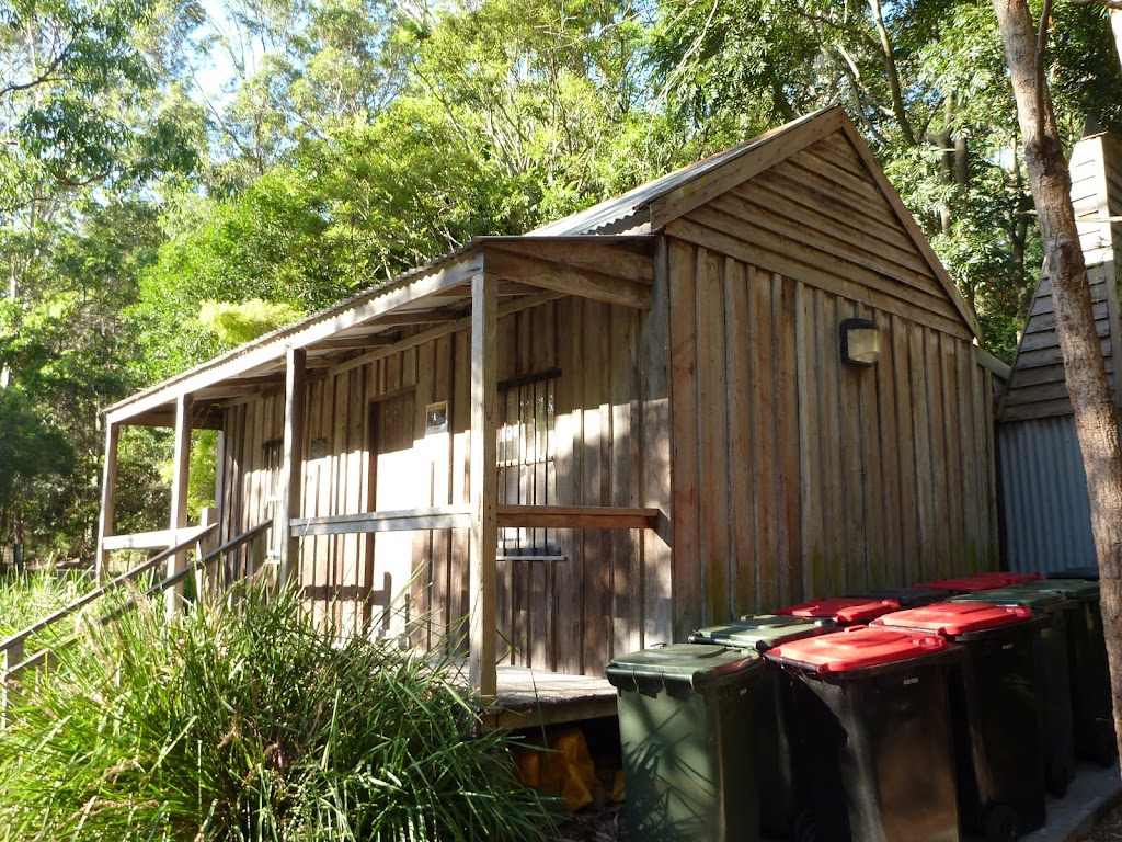 Information centre at Carnley Reserve