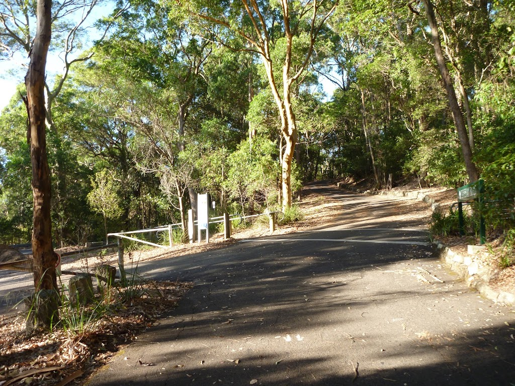Carnley Avenue Car Park in Blackbutt Reserve