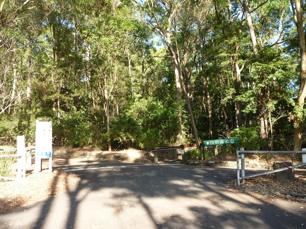 Intersection in Carnley Reserve at Blackbutt Reserve