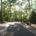 Intersection and sign in the Blackbutt Reserve (399580)