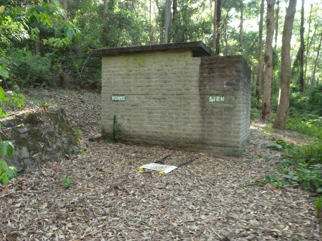 Closed toilet block in the Blackbutt Reserve